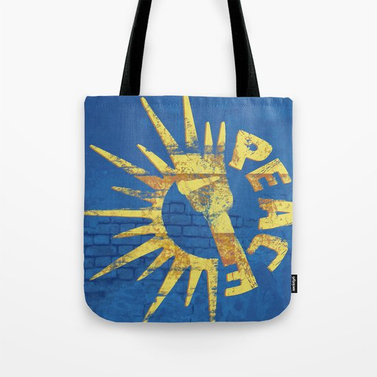 Moar Peace Tote Bag