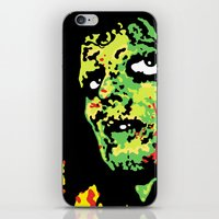 drums iPhone & iPod Skins featuring Voodoo Drums by Sellergren Design - Art is the Enemy