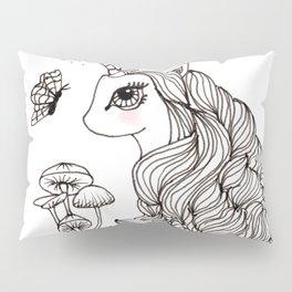MAGICAL UNICORN, NURSERY, FANTASY ART Pillow Sham