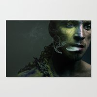 abyss Canvas Prints featuring Abyss  by Imustbedead