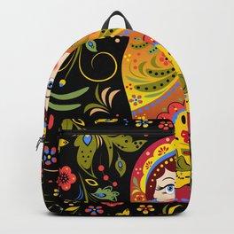 Russian matrioshka Backpack