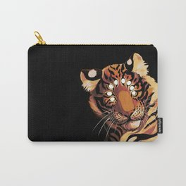 Do Not Give In to Despair (orange burn) Carry-All Pouch