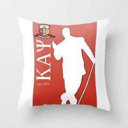 Kappa Alpha Psi (Divine 9) Throw Pillow