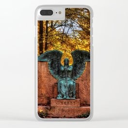 Angel of Death Victorious Clear iPhone Case