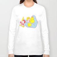 relax Long Sleeve T-shirts featuring Relax by Kimiaki Yaegashi