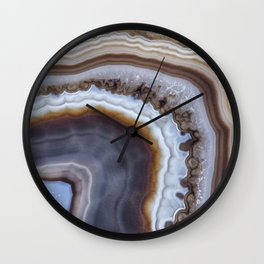 Mocha Agate 3294 Wall Clock