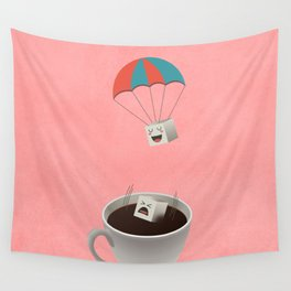 Cautious Sugar Cube Wall Tapestry