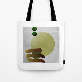 CAGED PEA Tote Bag