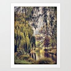 Avon River Art Print