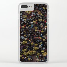 COL v. SEN Clear iPhone Case