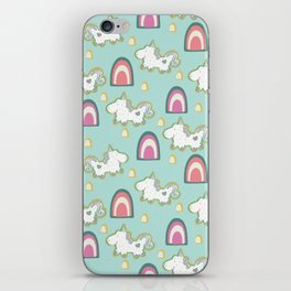 Cereal for Dinner - Unicorns iPhone Skin