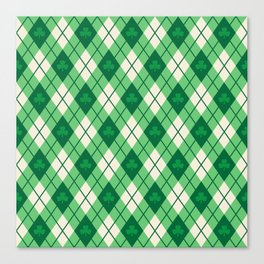 Irish Argyle Canvas Print