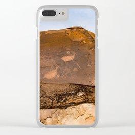 Desert Rock Art - Petroglyphs - IIa Clear iPhone Case