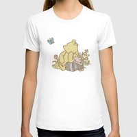 pooh T-shirts featuring Classic Pooh by kltj11