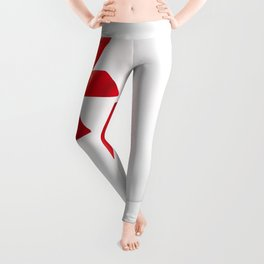 Card with red bow Leggings
