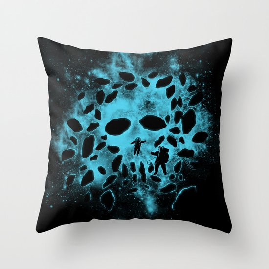 Death Space Throw Pillow