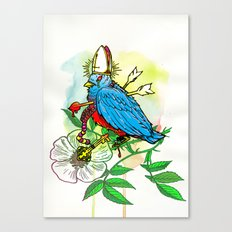 Bad Bad Birdy Canvas Print