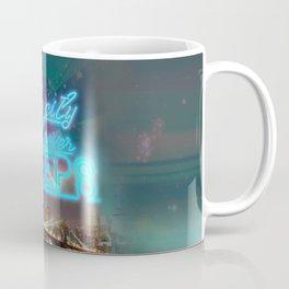 NEW YORK NEVER SLEEPS Coffee Mug