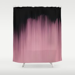 Dramatic Pink Shower Curtain