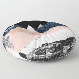 Pixel peak Floor Pillow