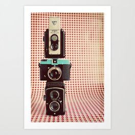 Dapper in Technicolor Art Print