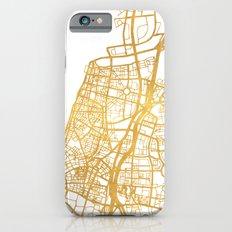 TEL AVIV ISRAEL CITY STREET MAP ART Slim Case iPhone 6s