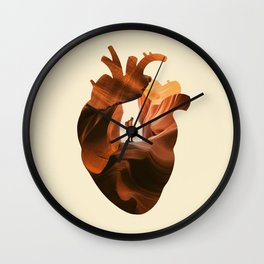 Heart Explorer Wall Clock