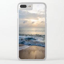 dawn on samui Clear iPhone Case