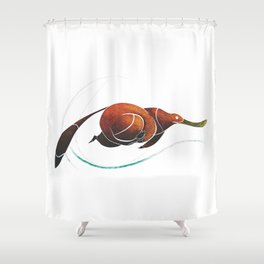 platypus Shower Curtain