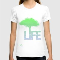 gradient T-shirts featuring LIFE! Gradient by Brandon sawyer