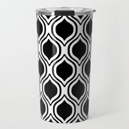 Black and white Alabama pattern university of alabama crimson tide college Travel Mug