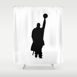 #TheJumpmanSeries, Omar Comin' Shower Curtain
