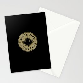 North Side Lifestyle (gold) Stationery Cards