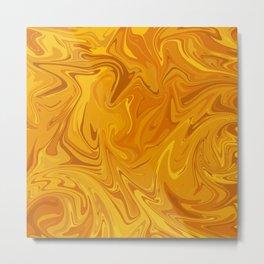 Molten Honey Metal Print