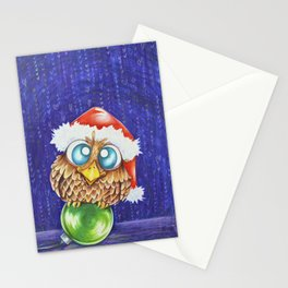 Owl I want for Christmas Stationery Cards