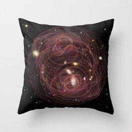 Cosmos, Awareness and Oscillation Throw Pillow