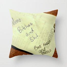 MEMO: Throw Pillow
