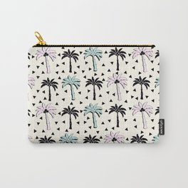 Memphis Palm Tree Funky Summer 80's Beach Carry-All Pouch