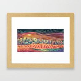 02 - Brain Forest Framed Art Print