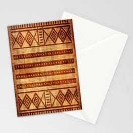 Embossed African Pattern Stationery Cards