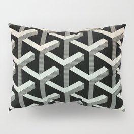 mesh cubes pattern Pillow Sham