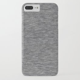 Athletic grey shirt pattern iPhone Case