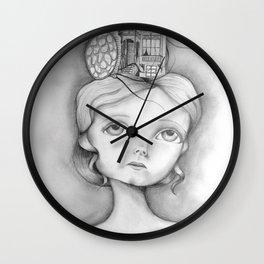 San Francisco, mon amour Wall Clock