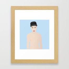 The Biebs Framed Art Print