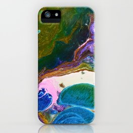 Colours are my life iPhone Case