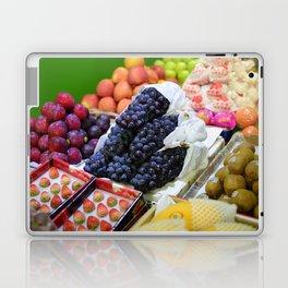 Market Display of Fruit - Kitchen or Cafe Decor Laptop & iPad Skin