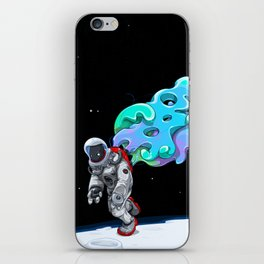 Moonwalk iPhone Skin