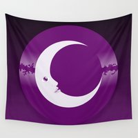 luna Wall Tapestries featuring Luna by tuditees