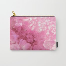 Sweet Pink Crystals Carry-All Pouch