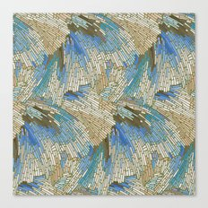 Abstract Sea Shells Canvas Print